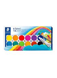 Staedtler Noris Club Water Colour Set, 12-Piece, Multicolour