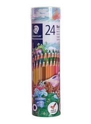 Staedtler Coloured Pencil Cylinder Set, 24 Pieces, Multicolour