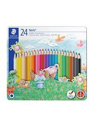 Staedtler Noris Color Pencil Set, 24 Pieces, 145 CM24 ST, Multicolour