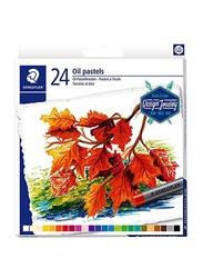 Staedtler Oil Pastel Colour Set, 24-Piece, Multicolour
