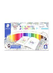 Staedtler 36-Piece Ergosoft Colored Pencil Set, 158 M36JB, Multicolour