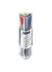 Staedtler Triplus Fineliner Pen Set, 0.3mm, 12 Pieces, Multicolour