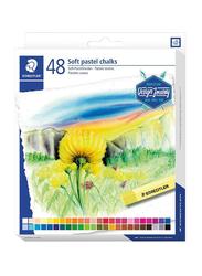 Staedtler Soft Pastel Colour Set, 48-Piece, Multicolour
