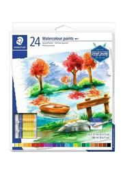 Staedtler Design Journey Watercolour Set, 24 x 12ml, Multicolour