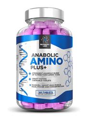 Testo Extreme Anabolic Anabolic Amino Plus Dietary Supplement, 180 Tablets, Raspberry
