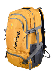 Shuaibo 15.6-inch Travel Hiking Backpack Laptop Bag, Orange