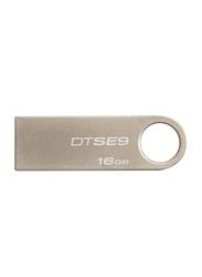 Kingston 16GB DataTraveler SE9 USB 2.0 Flash Drive, Beige