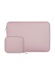 Mosiso 13.3-inch Protective Sleeve Laptop Bag with Pouch, Pink