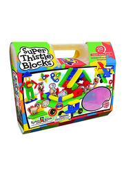 Small World Toys 210-Piece Ryan's Room: Super Thistle Blocks Set, 9729324, Multicolour