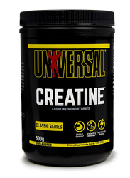 Universal Nutrition Creatine Monohydrate Dietary Supplement Powder, 500gm, Regular