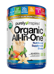 Purely Inspired Organic All-in-One Meal Replacement Protein Shake Powder, 590gm, French Vanilla