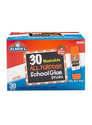 Elmer's 30-Piece School All Purpose Glue Sticks, Clear
