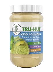 Tru-Nut Keto Collagen Protein Powder, 300gm, Peanut Butter