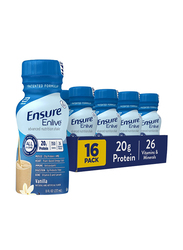 Ensure Enlive Meal Replacement Shake, 237ml x 16 Pieces, Vanilla