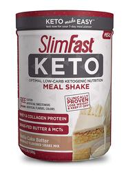 SlimFast Keto Shake Powder, 347gm, Vanilla Cake Batter