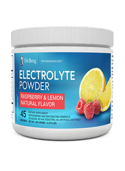 Dr. Berg Electrolyte Dietary Supplement Powder, 306gm, Rasberry/Lemon Natural