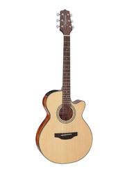 Takamine GF15CE Semi Acoustic Guitar, Rosewood Fingerboard, Natural Beige
