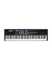 Akai MPK88 Hammer-Action USB/MIDI Controller Keyboard, 88 Keys, Black