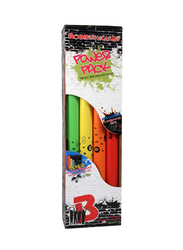 BoomWhackers BWWP-1 Percussion Effect Power Pack Set, 8-Piece, Multicolour
