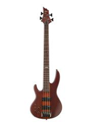 ESP LTD D-4 Left Hand Electric Guitar, Rosewood Fingerboard, Natural Satin Brown
