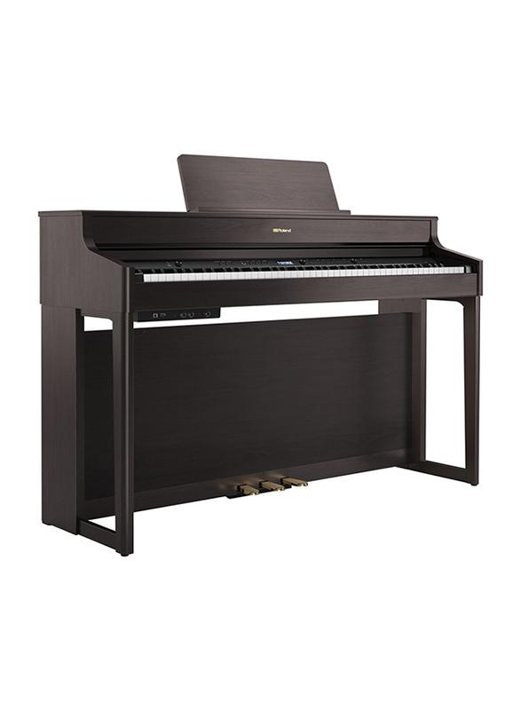 Roland HP702 Digital Piano, 88 Keys, Dark Rosewood Brown