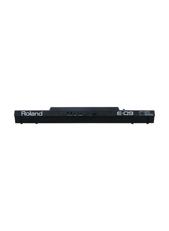 Roland E-09 Interactive Arranger Keyboard, 61 Keys, Black
