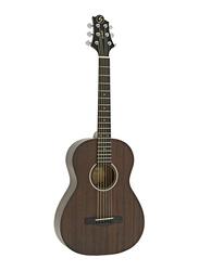 Samick ST6-1-NS Greg Bennett Design Acoustic Guitar, Rosewood Fingerboard, Brown