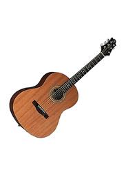 Samick ST9-1-NAT Greg Bennett Design Acoustic Guitar, Rosewood Fingerboard, Brown