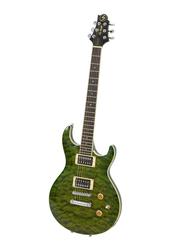 Samick UM-3 TEG Greg Bennett Electric Guitar, Rosewood Fingerboard, Green