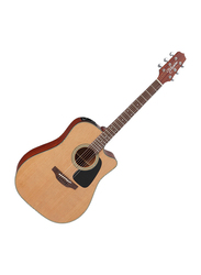 Takamine P1DC Dreadnought Cutaway Acoustic Guitar with Case, Rosewood Fingerboard, Natural Beige
