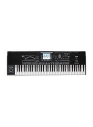 Korg Pa3X Professional Arranger Keyboard, 76 Keys, Black