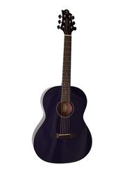 Samick ST9-1-CBL Greg Bennett Design Acoustic Guitar, Rosewood Fingerboard, Navy Blue