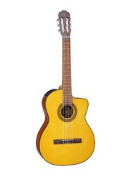 Takamine GC1-CE Semi Acoustic Classical Guitar, Rosewood Fingerboard, Natural Beige