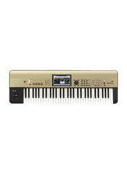 Korg Krome Limited Edition Workstation Keyboard, 61 Keys, Gold