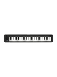 Korg MicroKey USB Powered Keyboard, 61 Keys, Black