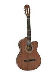 Samick CNG-1CE-NAT Greg Bennett Design Classic Guitar, Rosewood Fingerboard, Brown