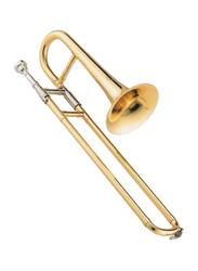 Jupiter JST-314L Slide Trumpet, Nickel Plated Brass Bell, Gold Lacquer Finish