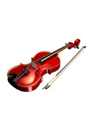 Hans Joseph MV014E-4/4 Violin, Ebony Fingerboard, Red