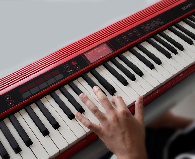 Roland Go-61K Music Creation Keyboard, 61 Keys, Red