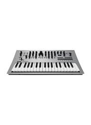 Korg Minilogue Polyphonic Analog Synthesizer Keyboard, 37 Keys, Grey