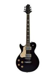 Samick AV-3 LH BK Greg Bennett Electric Guitar, Rosewood Fingerboard, Black