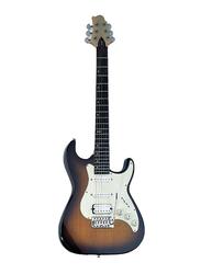 Samick MB-2-VS Greg Bennett Design Electric Guitar, Rosewood Fingerboard, Vintage 3-Color Sunburst