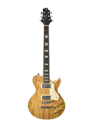 Samick AV-6 LTD NAT Greg Bennett Electric Guitar, Rosewood Fingerboard, Natural Beige