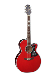 Takamine GN75CE-WR Semi Acoustic Guitar, Rosewood Fingerboard, Red