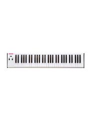Musberry MSK61 Portable Electronic Keyboard, 61 Keys, White