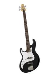 Samick FN-1LH Greg Bennett Design Electric Bass Guitar, Rosewood Fingerboard, Black