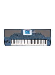 Korg PA800 Professional Arranger Keyboard, 61 Keys, Blue