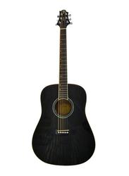 Samick D-4-CE Greg Bennett Design Acoustic Guitar, Rosewood Fingerboard, Black