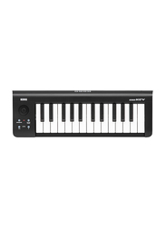Korg Microkey-25 USB Powered Keyboard, 25 Keys, Black