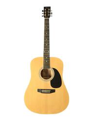 Passion FG02941 Acoustic Guitar, Maple Fingerboard, Beige